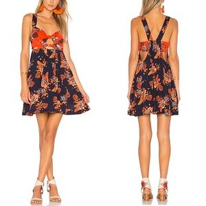 Free People x REVOLVE Baby Its You Mini Blue Combo